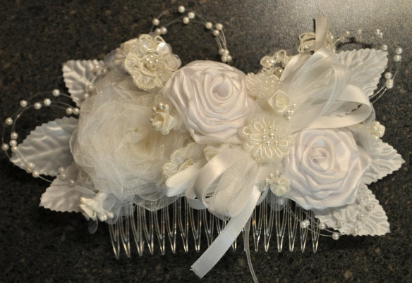hairpiece for the bride